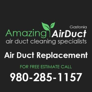 Air Duct Replacment Gastonia NC